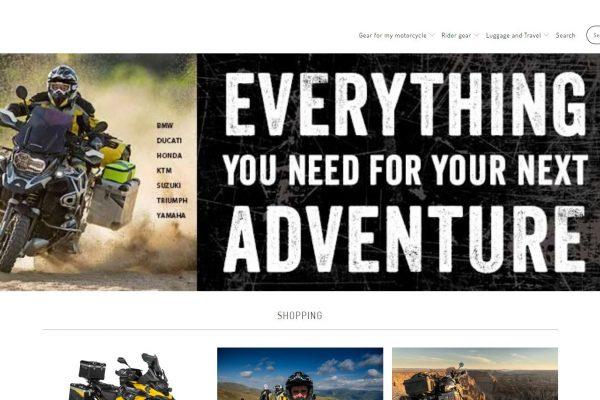 Website van Touratech-Mill